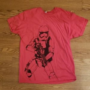 Red Star Wars Storm trooper Tshirt